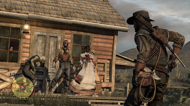 Red Dead Redemption Undead Nightmare - 360, PS3 - 2