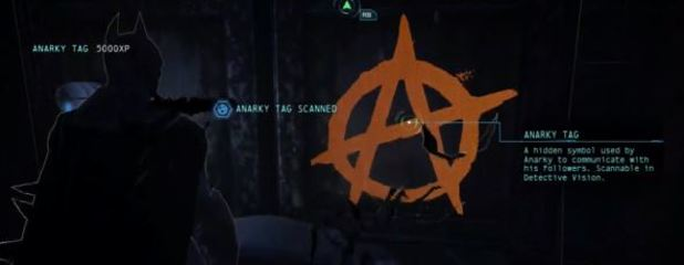 Batman: Arkham Origins Screenshot - Batman: Arkham Origins Anarky tags