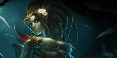League of Legends Screenshot - Haunted Zyra