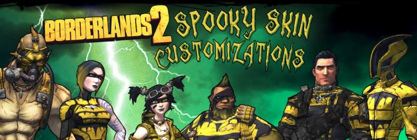 Borderlands 2 is offering free spooky skin customizations
