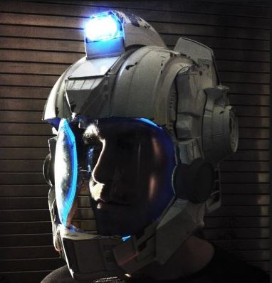Naughty Dog sci fi helmet