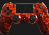 Orange Zombie Hazard DualShock 4