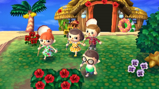 Up Up Down Down: Animal Crossing: New Leaf