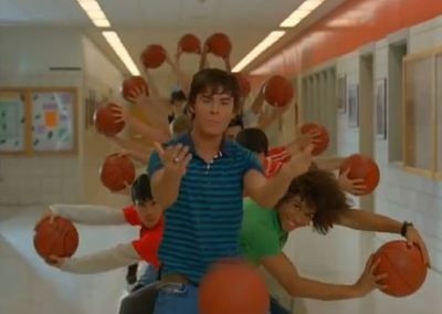 Zac Efron High School Musical 2