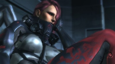 Metal Gear Rising: Revengeance Screenshot - Bladewolf