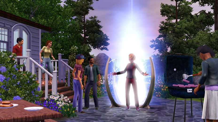The Sims 3 Into the Future time travel