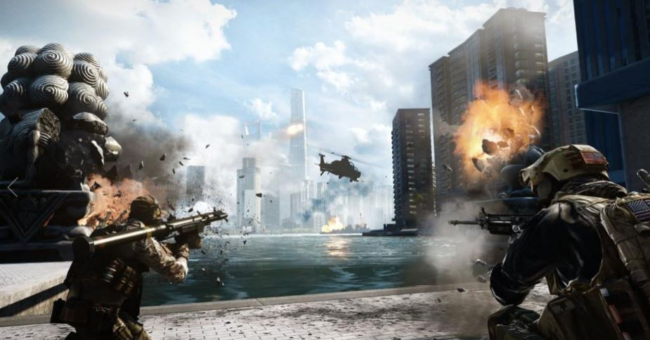 Battlefield 4 defending the river