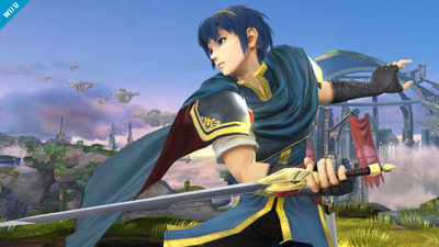 Super Smash Bros. for 3DS / Wii U Screenshot - Super Smash Bros - Marth