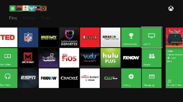 Xbox One (Console) Screenshot - Xbox One TV apps