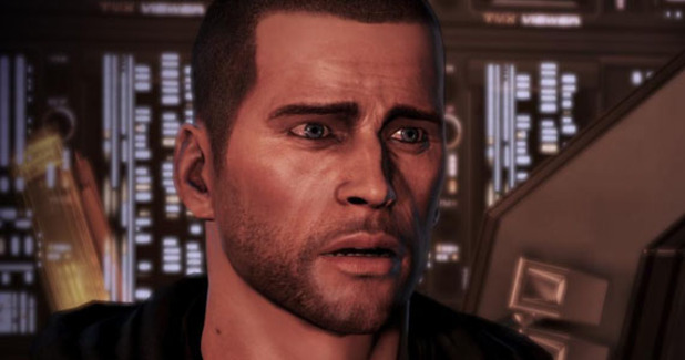 Mass Effect Screenshot - Sad Shepard