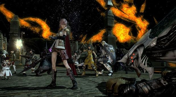Final Fantasy XIV: A Realm Reborn Screenshot - Lightning FF14