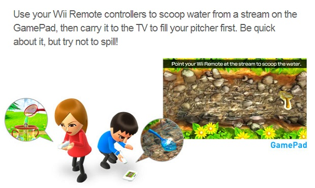 wii party u water runners