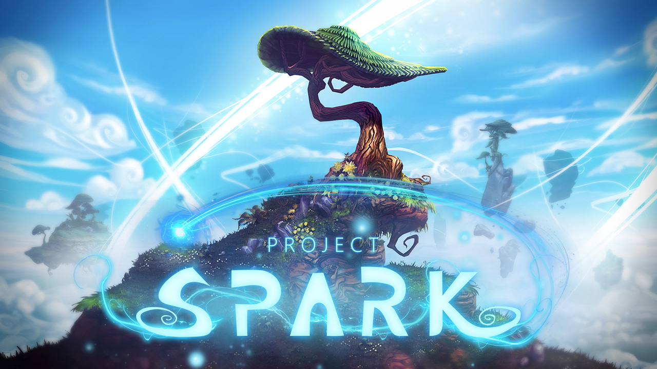 Project Spark Title Screen