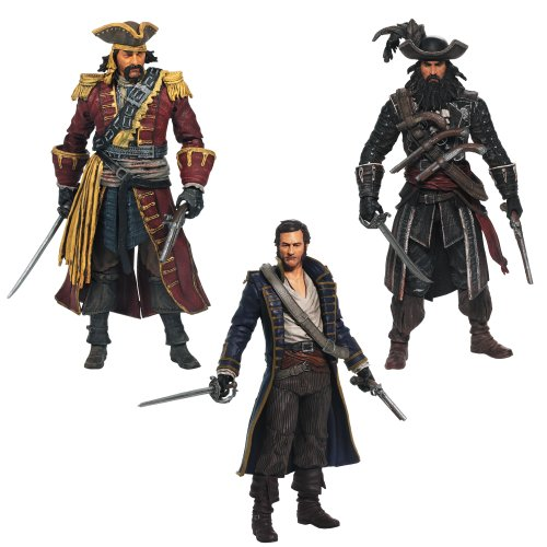 Assassin's Creed IV figures
