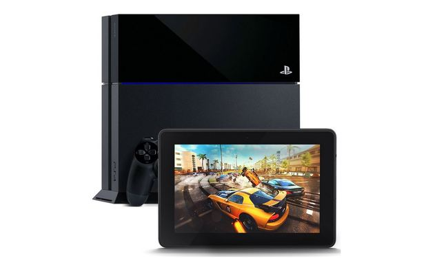 PlayStation 4 (console) Screenshot - PS4 with Kindle Fire HDX