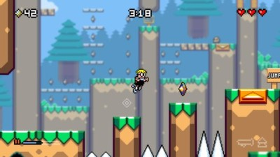 Mutant Mudds Screenshot - Mutant Mudds Deluxe
