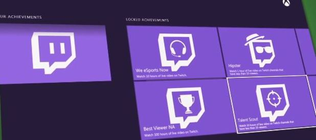 Xbox One Twitch achievements