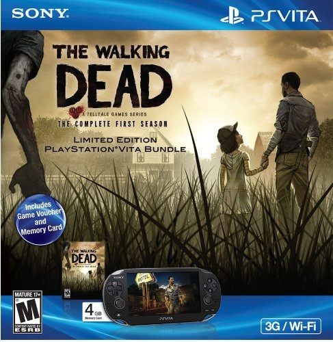 PS Vita TheWAlking Dead bundle