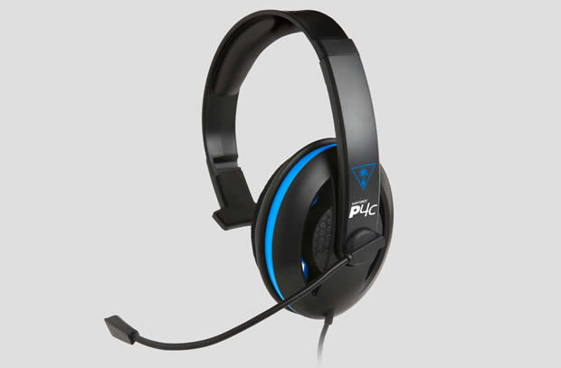 turtle beach earfoce p4c ps4 headset
