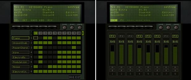 KORG M01D Screenshot - Korg M01D