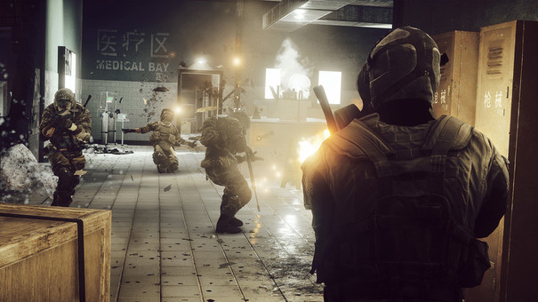 Battlefield 4 close quarters combat