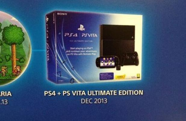 PlayStation 4 (console) Screenshot - PS4 and Vita Ultimate Bundle