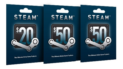 steam gift card at target