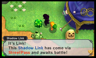 The Legend of Zelda: A Link Between Worlds Screenshot - Shadow Link