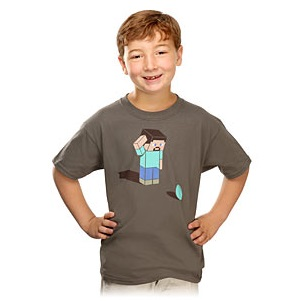 minecraft kids shirt