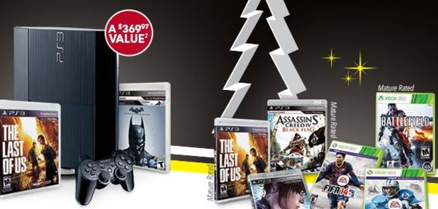 Best Buy Black Friday game sales