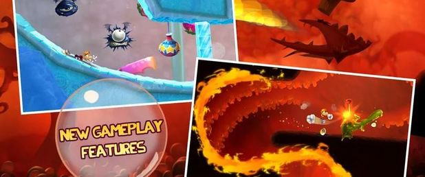 Rayman Fiesta Run - Feature