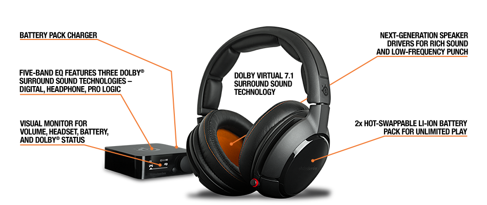 Steelseries Wireless H