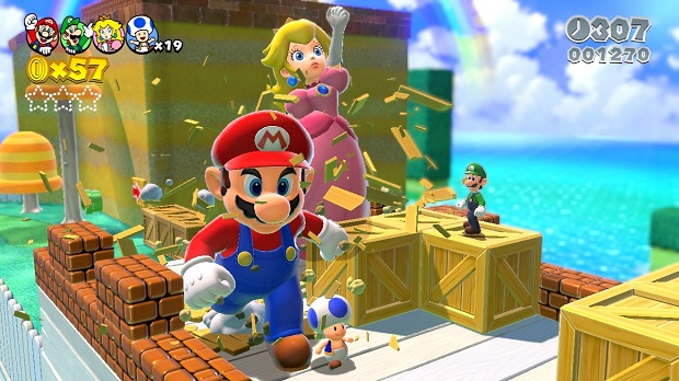 Super Mario 3D World - Wii U - 1