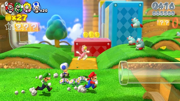 Super Mario 3D World - Wii U - 3