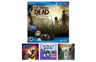 PS Vita Screenshot -  Amazon Exclusive Holiday Walking Dead Vita Bundle
