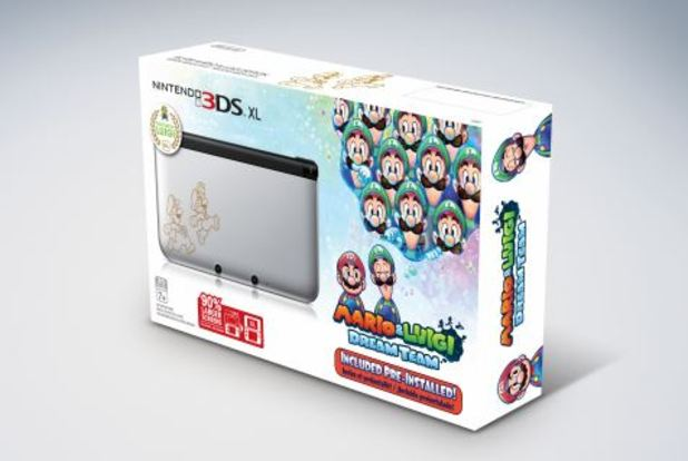 Nintendo 3DS XL Screenshot - Silver Nintendo 3DS XL