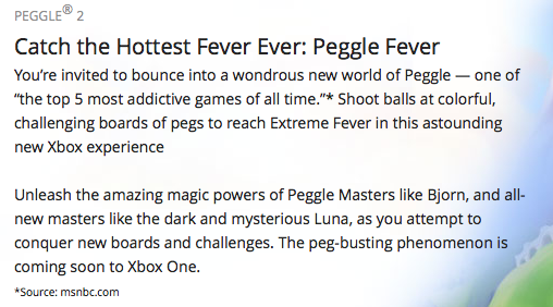 About Peggle 2
