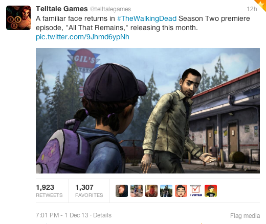The Walking Dead: Season Two teaser