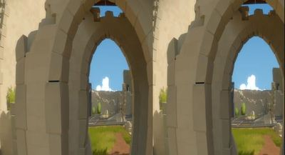 The Witness Oculus Rift support