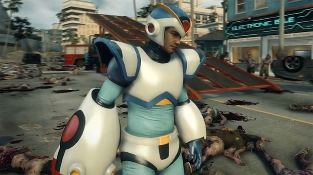 Dead Rising 3 Screenshot - Dead Rising 3 Mega Man X