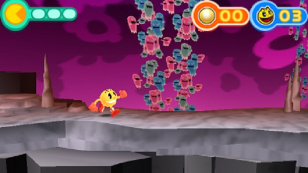Pac-Man and the Ghostly Adventures - 3DS - 2