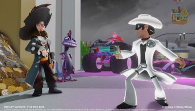 Disney Infinity Infinite Crystal Series Jack Sparow Lone Ranger