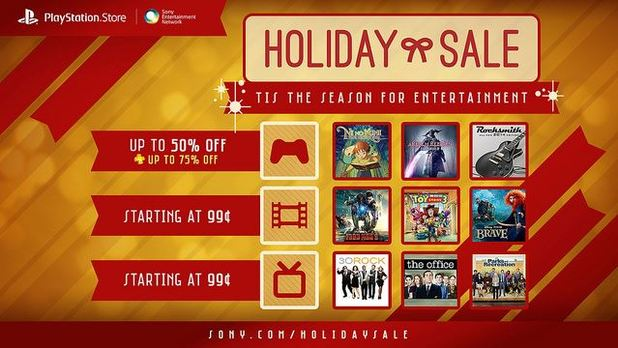 Playstation 3 Screenshot - PlayStation Store Holiday Sale