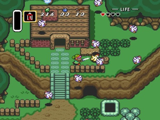 The Legend of Zelda: A Link to the Past Screenshot - A Link to the Past