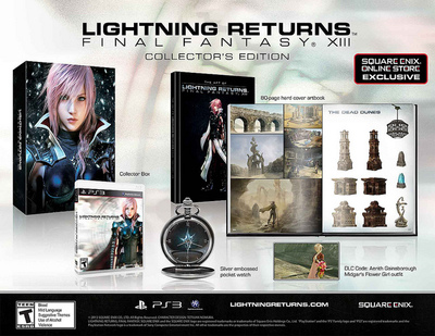 Lightning Returns: Final Fantasy XIII Screenshot -  Lightning Returns: Final Fantasy XIII Collector's Edition