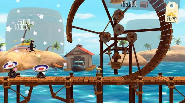 BIT.TRIP Presents... Runner2: Future Legend of Rhythm Alien Screenshot - Bit.Trip's Runner2