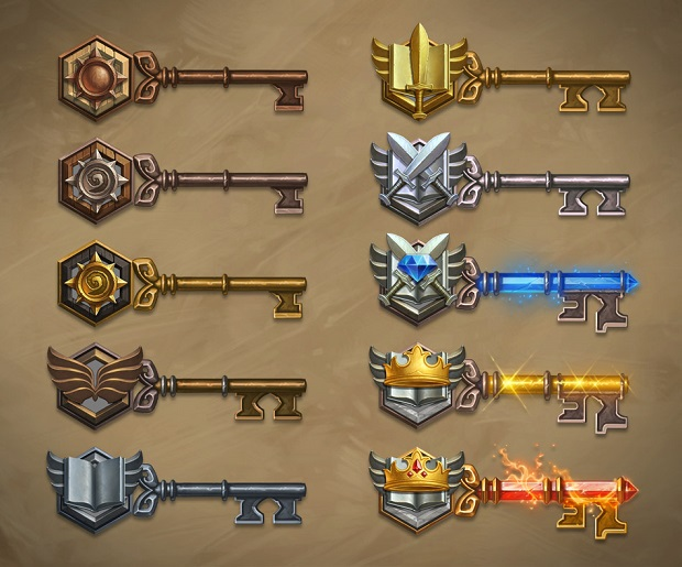 Hearthstone Arena Keys