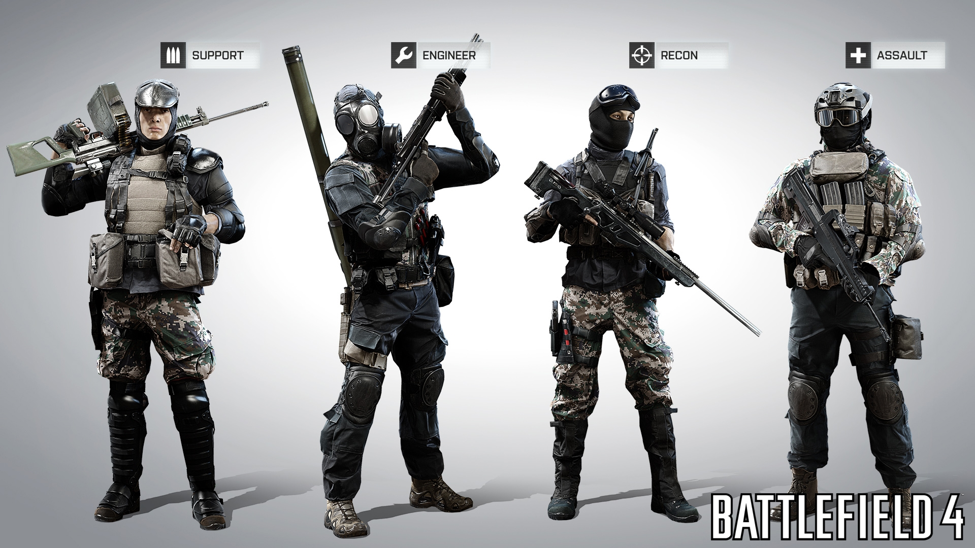 BF4 Teamwork and Classes