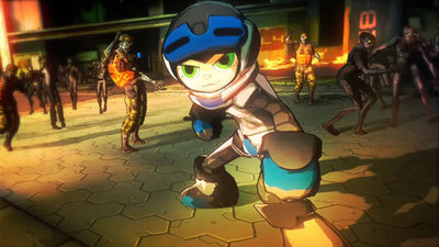 Mighty No. 9 Screenshot - Mighty No. 9 crossover