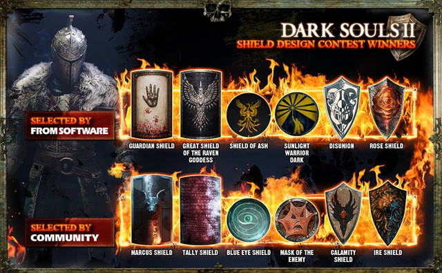 Dark Souls Shields